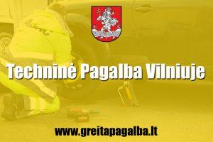 Technine pagalba Vilniuje
